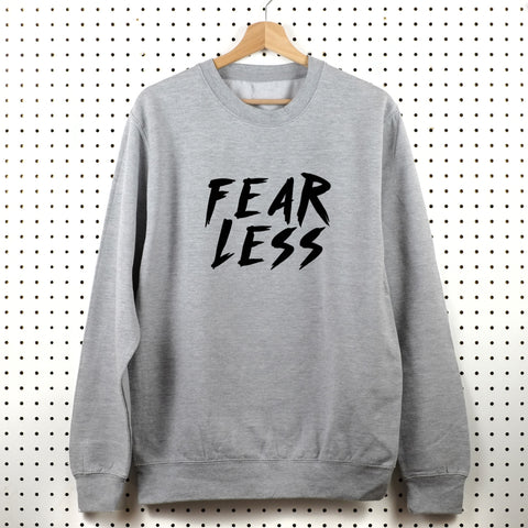 Fear-less Sweatshirt - Little Whirlwinds cool baby clothes and cool older kids clothes and gifts