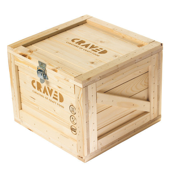 wooden crate, Gift wrapped, christmas collection, gifts for her, gifts for him curated by Craved