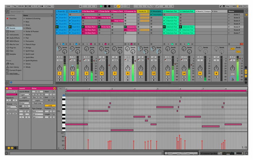 Ableton Live 10 Suite - Academic Version (download)