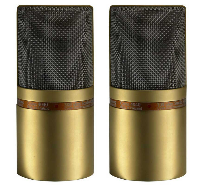 Coles 4040 Studio Ribbon Mic (Matched Pair)