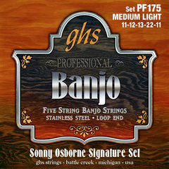 GHS Strings 5-STR BANJ,OSBORNE,ML
