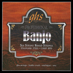 GHS Strings 6 STRING BANJO LIGHT