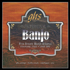 GHS Strings 5-STR BANJ,ST STL,MED