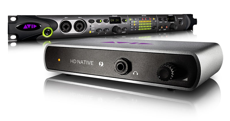 Avid Pro Tools|HD Native Thunderbolt + HD MADI