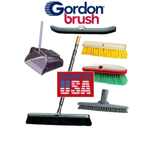 Brooms | Squeegees | Scrub & Wash Brushes