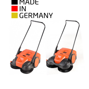 HAAGA® Indoor / Outdoor Wide-Area Sweepers