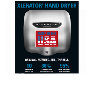 XLERATOR® Touch Free Wall Hand Dryers