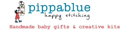 Pippablue handmade baby gifts, personalised blankets, sewing kits for kids, handmade in Ireland