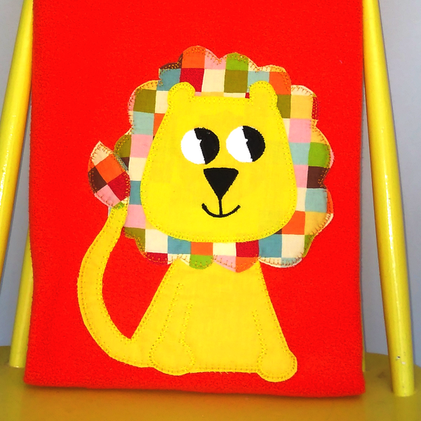 Personalised Baby Blanket -Lion
