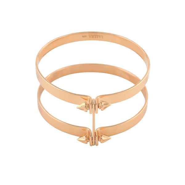 Double Spike Bangles - VETIVR  - 1
