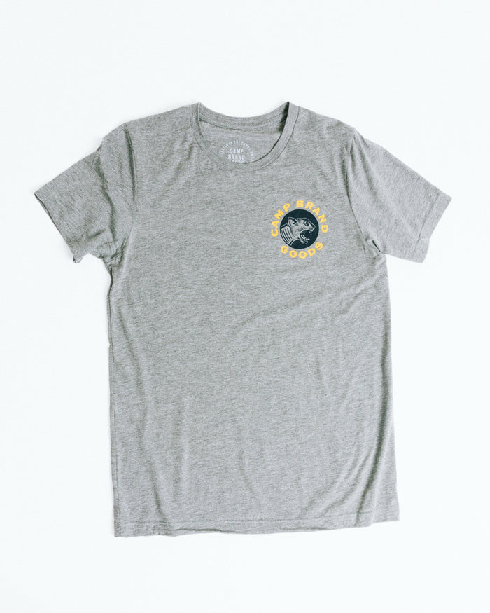 CAT'S MEOW T-SHIRT // TRI GREY