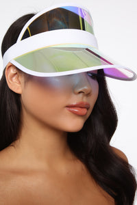 Clearly Into You Visor - Iridescent