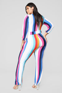 Sunrise Blvd Jumpsuit - Multi