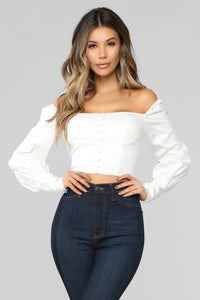 Undeniable Love Top - White
