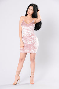 Sweet Like Your Love Dress - Blush