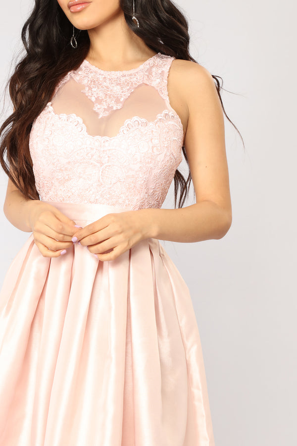 b3f485fae3 Duchess Maxi Dress - Blush