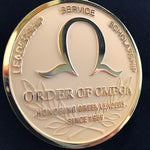 Order of Omega medallion detail shot