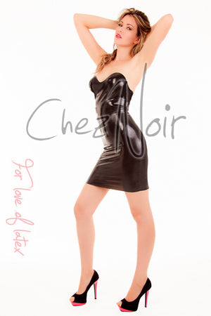 Latex Spanking Dress | Chez Noir | Latex Sex Toys, Fetish Wear and More!