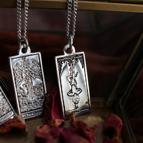 Tarots Tale 'The Hanged Man' Necklace | Harmony Nice X Dixi