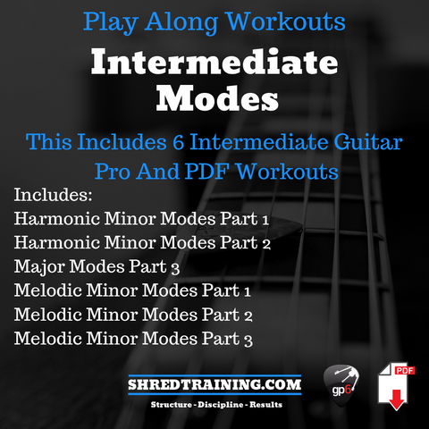 Intermediate Scales, Chords and Arpeggios Bundle