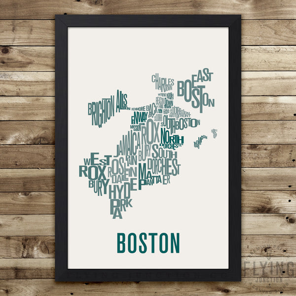 Boston Neighborhood Map