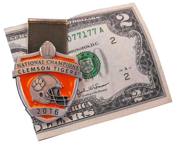 2016 National Champions Pewter Money Clip