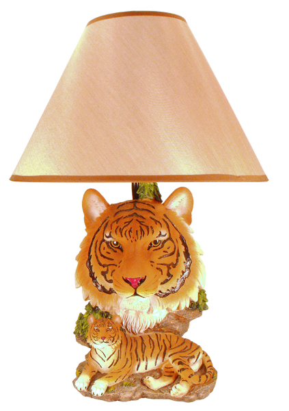 Clemson University - Tiger Figurine Lamp