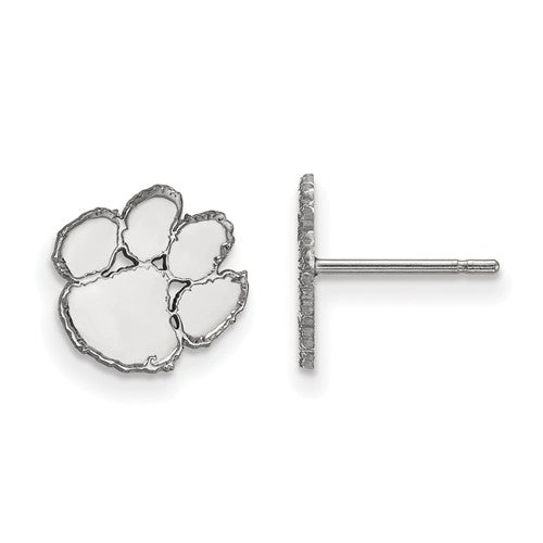 Sterling Silver Extra Small Paw Post Earrings
