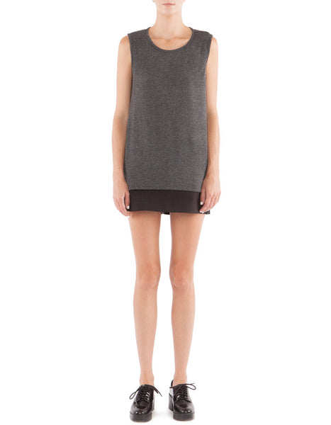 Candice Tank Charcoal Black