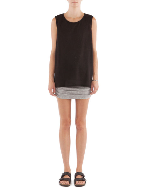 Candice Tank Real Black