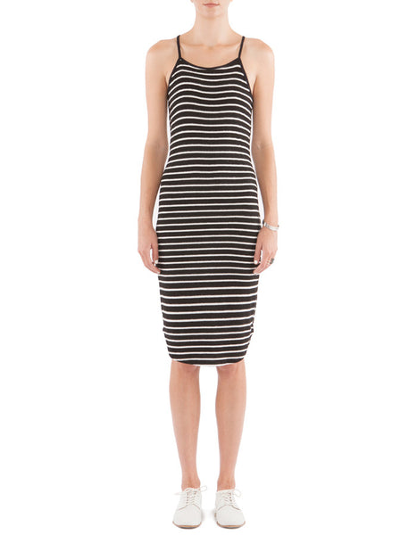Jessie Dress Black/White