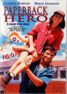 Paperback Hero DVD 1990 Hugh Jackman Claudia Karvan Great Australian romantic comedy