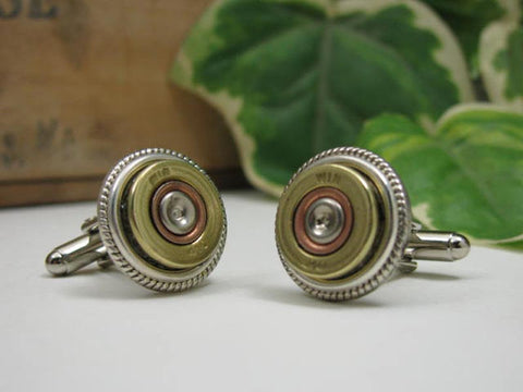 410 Gauge Shotshell Cuff Links