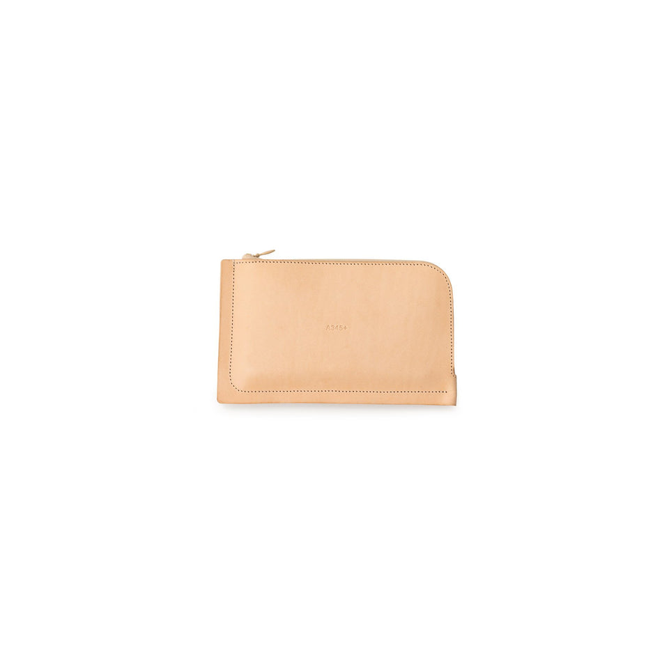 A6+ Leather Wallet Natural