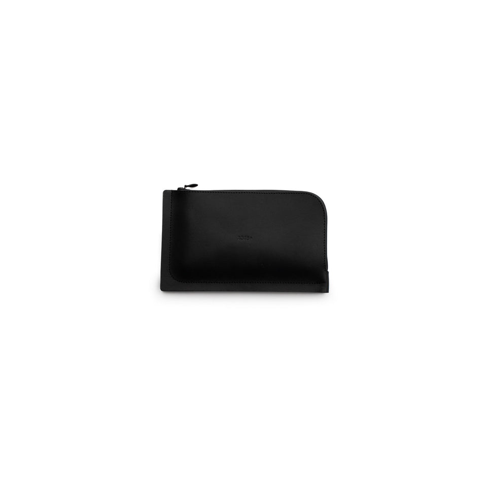 A6+ Leather Wallet Black