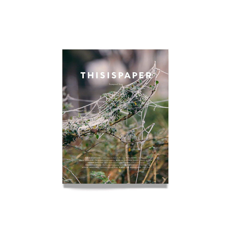 Thisispaper Inaugural Issue