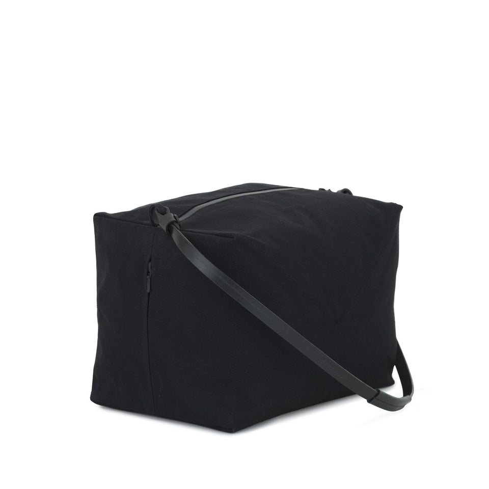 Thisispaper Parachute Bag Solid Black