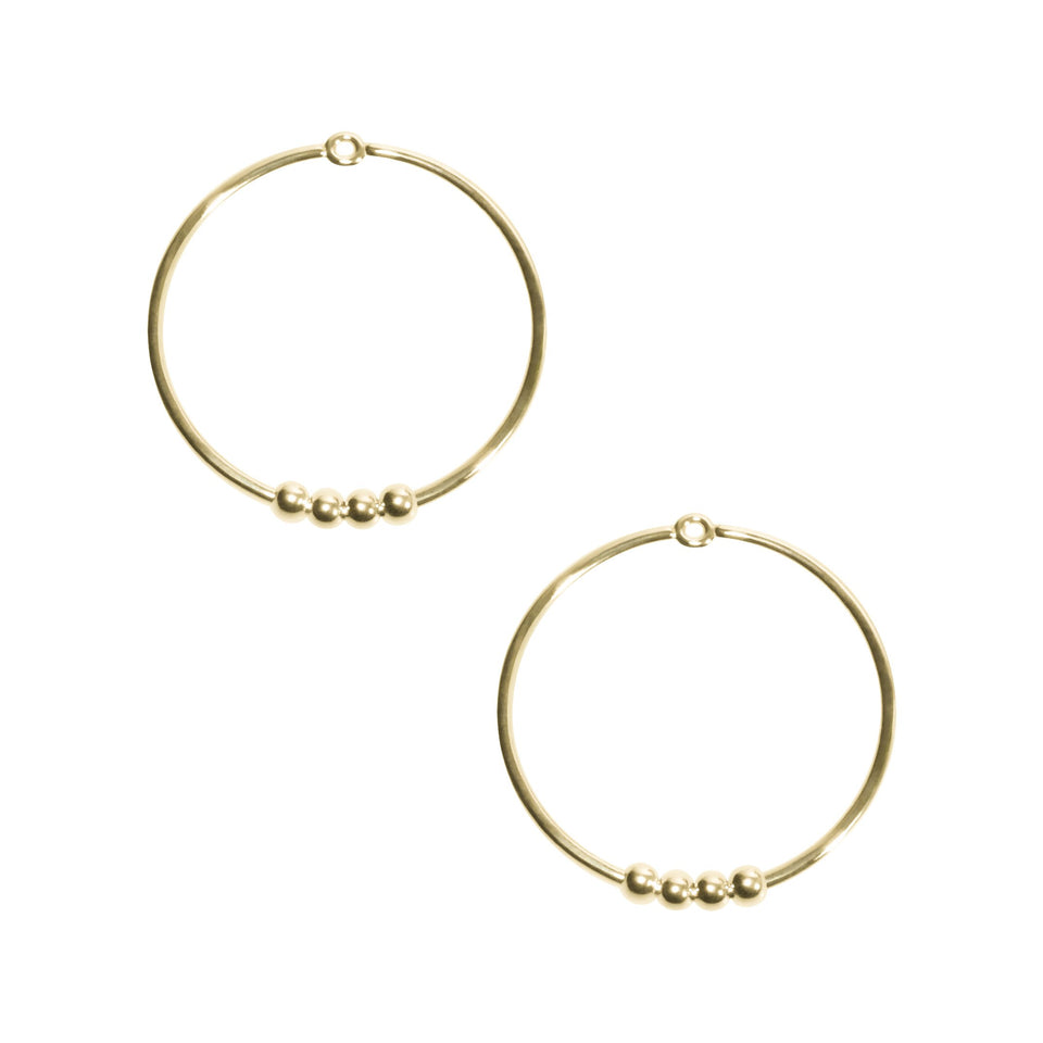 Turn Circle Earrings
