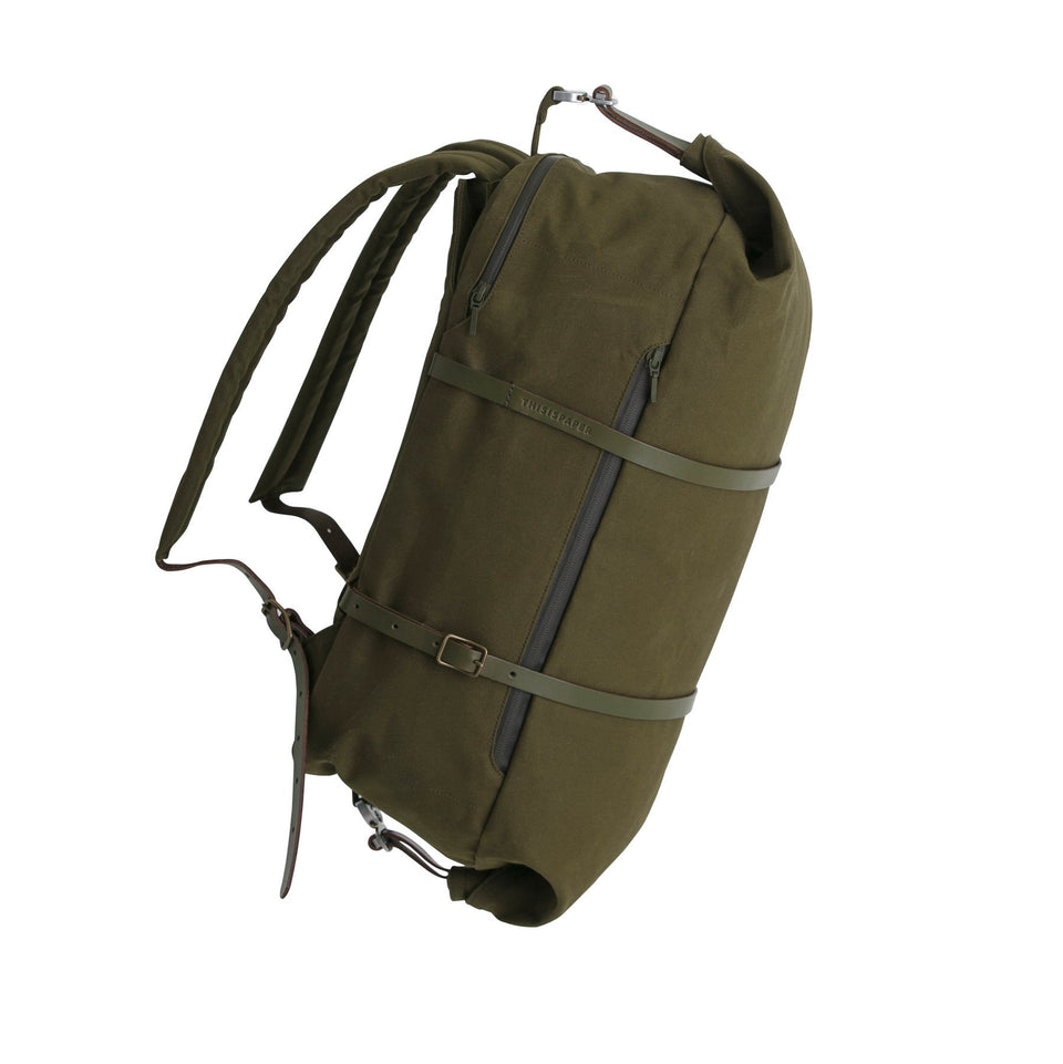 Thisispaper Cargo 2-in-1 Backpack Army Green