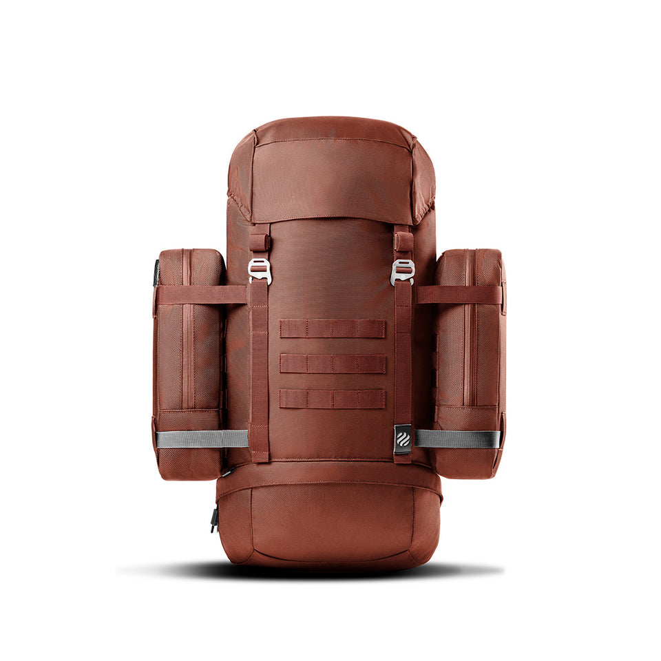 Heimplanet Monolith Rucksack 45+L Copper Red