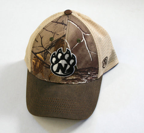 Adjustable Camo Trucker Cap