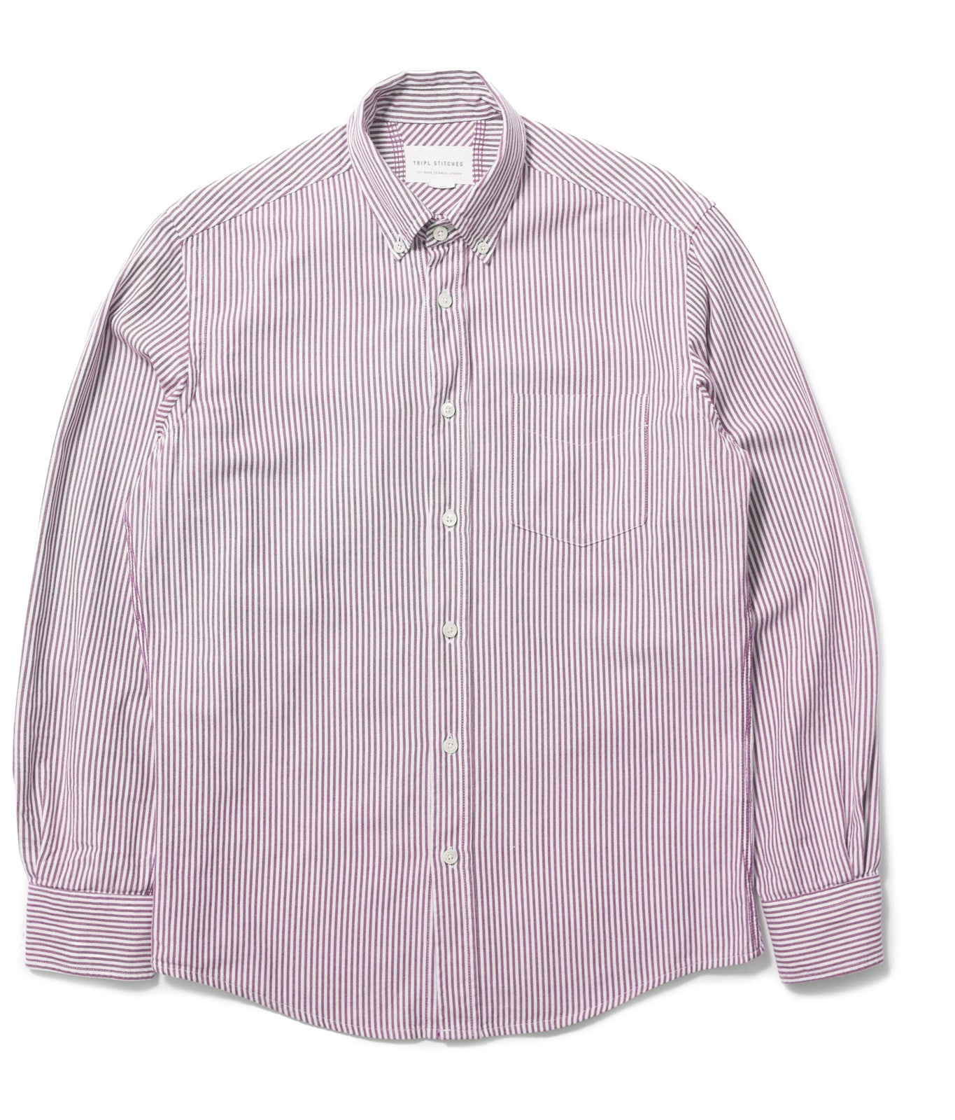 Classic Button Down - Pink Candy Stripe