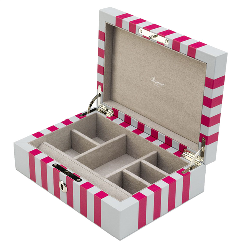 Rapport - Berkeley Jewelery Box - White | J142