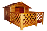The Mansion Wooden Dog House - Pet Possibilities - 2