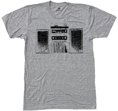 80's Stereo - Heather Grey