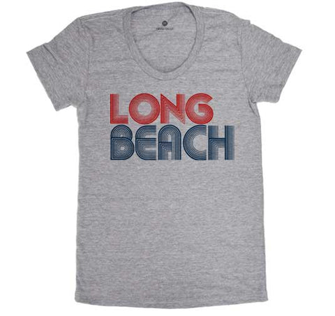 Long Beach 76 - Womens - Heather Grey