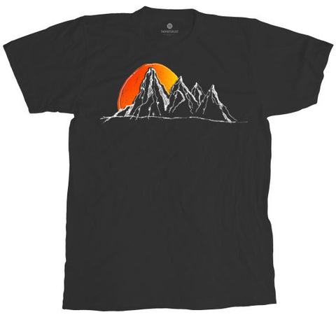 Mountain Escape - Antique Black
