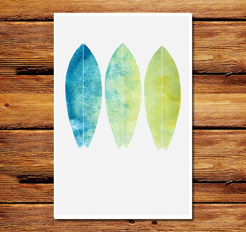 Watercolor Boards Poster