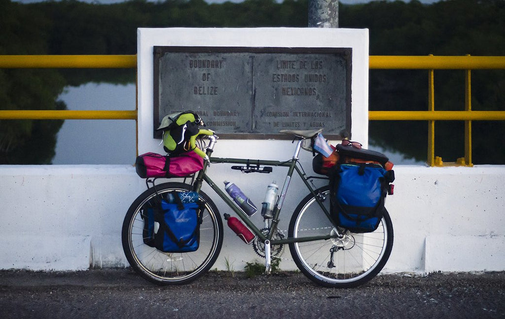 Time Traveling and Bike Touring