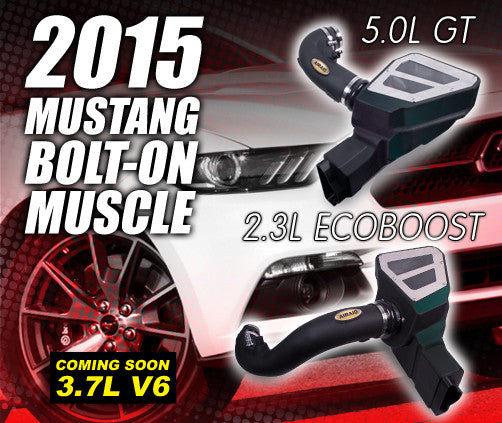 Ford Mustang AIRAID intake 2015 2.3 ecoboost- 5.0GT